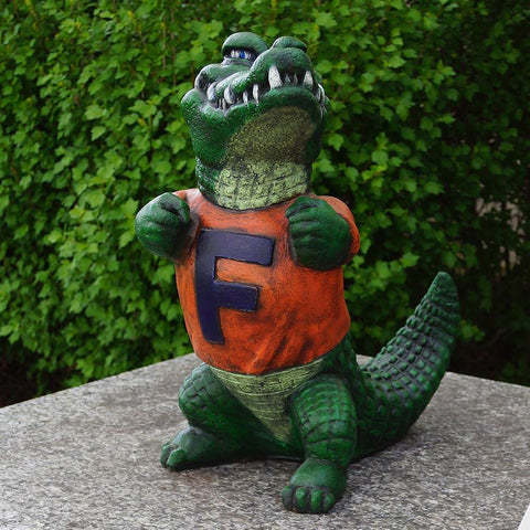 Florida Gators Ncaa Gator College Mascot 19in Full Color Statue