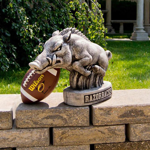 Arkansas Razorbacks Ncaa Tusk College Mascot 16in Vintage Statue