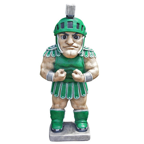 Michigan State Spartans Ncaa Sparty College Mascot 24in Full Color Statue
