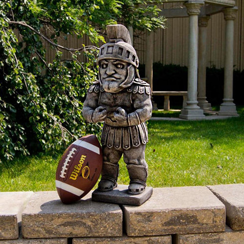 Michigan State Spartans Ncaa Sparty College Mascot 24in Vintage Statue