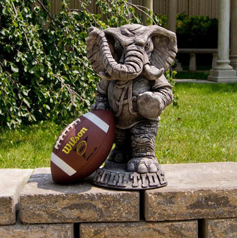 Alabama Crimson Tide Ncaa Big Al College Mascot 20in Vintage Statue