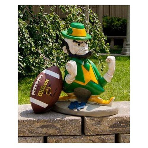 Notre Dame Fighting Irish Ncaa Leprechaun College Mascot 20in Full Color Statue