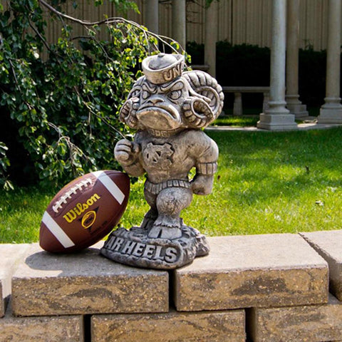 North Carolina Tar Heels Ncaa Tar Heel College Mascot 20in Vintage Statue