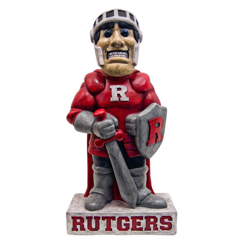 Rutgers Scarlet Knights Ncaa Scarlet Knight College Mascot 21.5in Full Color Statue