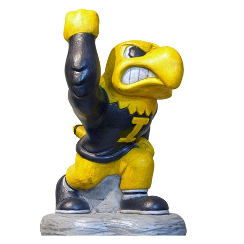 Iowa Hawkeyes Ncaa Herky College Mascot 20in Full Color Statue