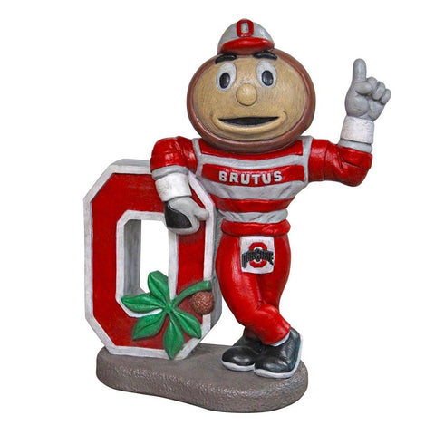 Ohio State Buckeyes Ncaa Brutus College Mascot 22in Full Color Statue