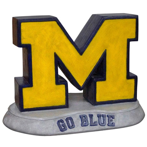 Michigan Wolverines Ncaa M - Go Blue College Mascot 13in Full Color Statue