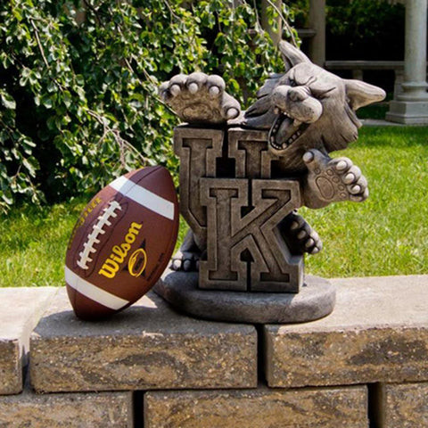 Kentucky Wildcats Ncaa Wildcat College Mascot 19in Vintage Statue