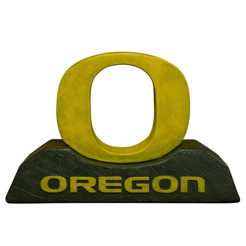 Oregon Ducks Ncaa O College Mascot 12in Full Color Statue