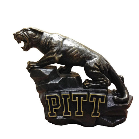 Pittsburgh Panthers Ncaa Pitt Panther College Mascot 15in Full Color Statue