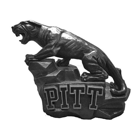 Pittsburgh Panthers Ncaa Pitt Panther College Mascot 15in Vintage Statue