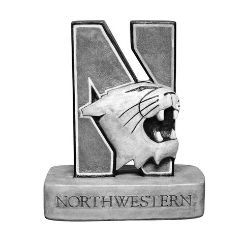 Northwestern Wildcats Ncaa N-cat Wildcat College Mascot 18in Vintage Statue