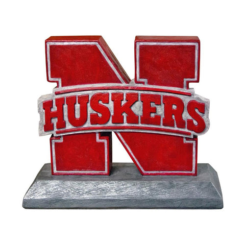Nebraska Cornhuskers Ncaa Husker College Mascot 14in Full Color Statue