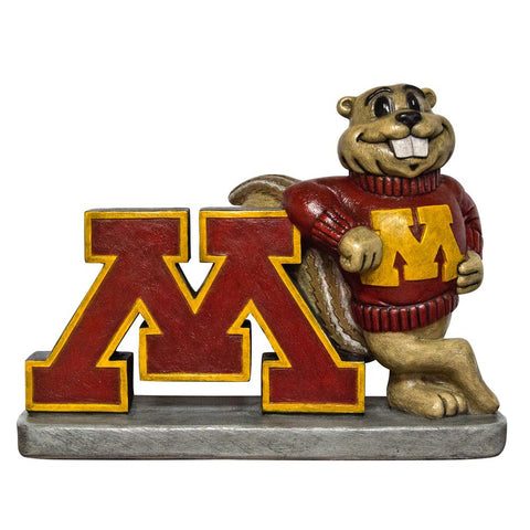 Minnesota Golden Gophers Ncaa Golden Gopher College Mascot 16in Full Color Statue