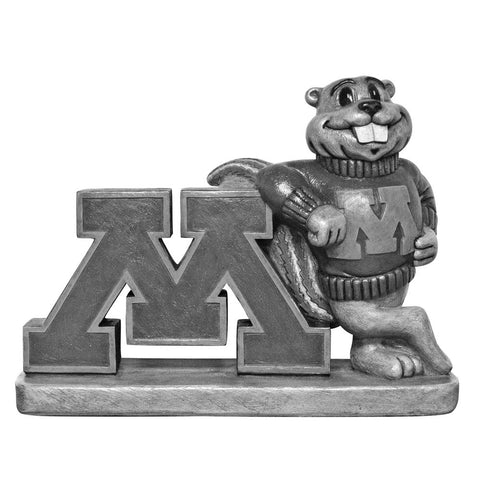 Minnesota Golden Gophers Ncaa Golden Gopher College Mascot 16in Vintage Statue