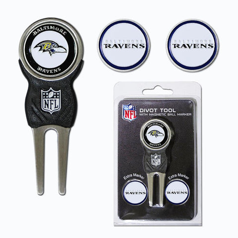 Baltimore Ravens Nfl Divot Tool Pack W-signature Tool