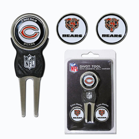 Chicago Bears Nfl Divot Tool Pack W-signature Tool
