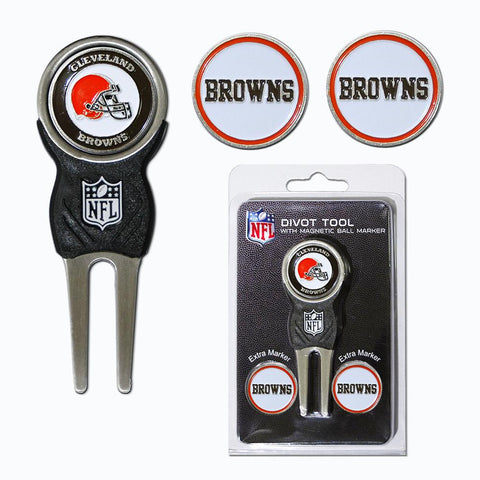 Cleveland Browns Nfl Divot Tool Pack W-signature Tool