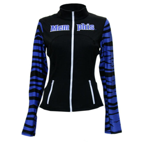 Memphis Tigers Ncaa Womens Yoga Jacket (black)