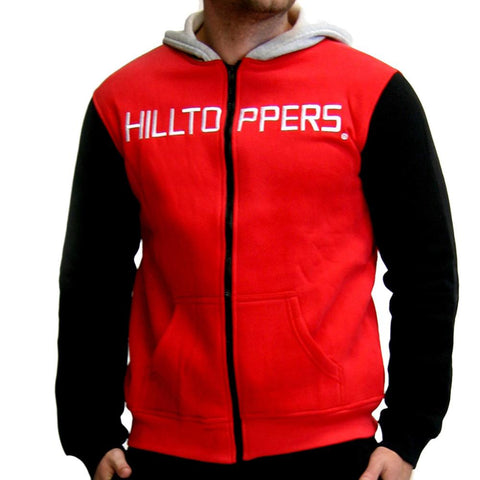 Western Kentucky Hilltoppers Ncaa Mens Full-zip Hoddie (red)