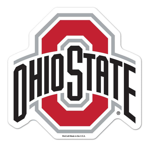Ohio State Buckeyes Ncaa Automotive Grille Logo On The Gogo
