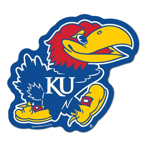 Kansas Jayhawks Ncaa Automotive Grille Logo On The Gogo