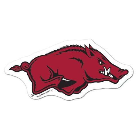 Arkansas Razorbacks Ncaa Automotive Grille Logo On The Gogo