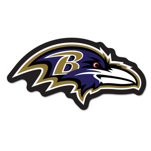 Baltimore Ravens Nfl Automotive Grille Logo On The Gogo
