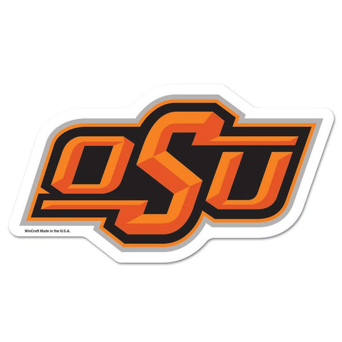 Oklahoma State Cowboys Ncaa Automotive Grille Logo On The Gogo