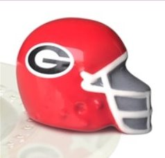 Nora Fleming - Mini - Georgia Football Helmet (A303)