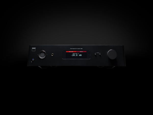 NAD C-368 Hybrid Integrated Digital DAC Amplifier - Jamsticks