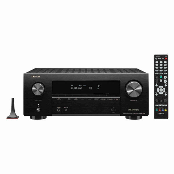 Denon AVR-X-2700H 7.2ch 8K AV Receiver with 3D Audio, Voice Control and HEOS Built-in - Jamsticks
