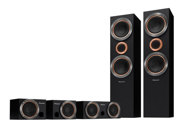 Pioneer S-RS55TB 5.0 Ch Speaker Package - Jamsticks