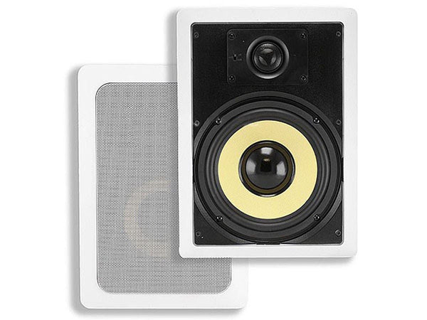 "Monoprice Caliber 6.5"" 2-way In-Wall Speakers - Jamsticks"