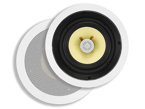 Monoprice Caliber In-Ceiling Speakers, 6.5in Fiber 2-Way (pair) (4103)