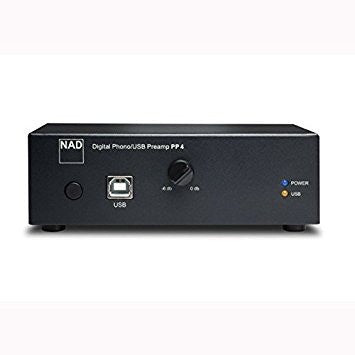 NAD PHONO DIGITAL USB PREAMPLIFIER PP4 - USB Pre Amplifier - Jamsticks