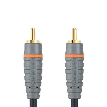 Bandridge SAL-4801 BE PRE High Definition Digi Coax Audio Cable RCA Male - RCA Male 2.0m - Digital Cables - Jamsticks