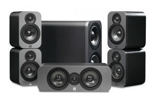 Q Acoustics  3000 Series 5.1 Ch Speakers - 5.1 Ch Speakers - Jamsticks
