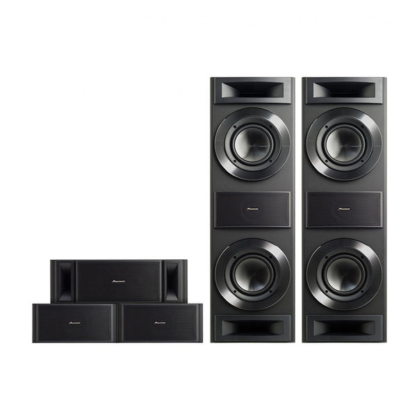 Pioneer S-RS88TB 5.0 Ch Speaker Package - Jamsticks