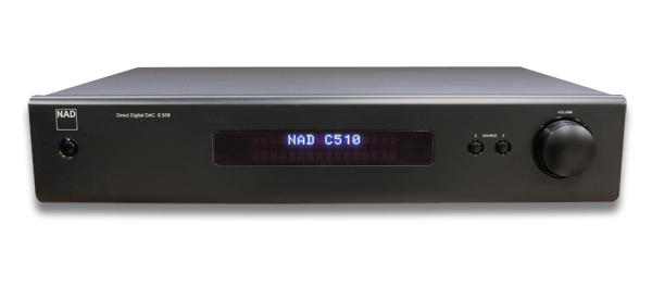 NAD C 510 Direct Digital Pre-amp DAC Digital Audio Product - Jamsticks