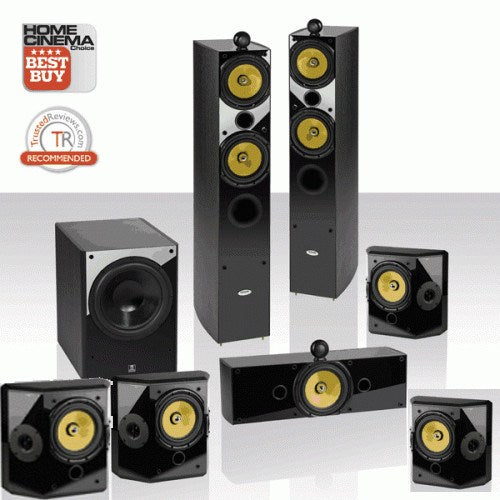 Crystal Acoustics T2 7.1UL 7.1 Speaker Package - 7.1/7.2 ch speaker Package - Jamsticks