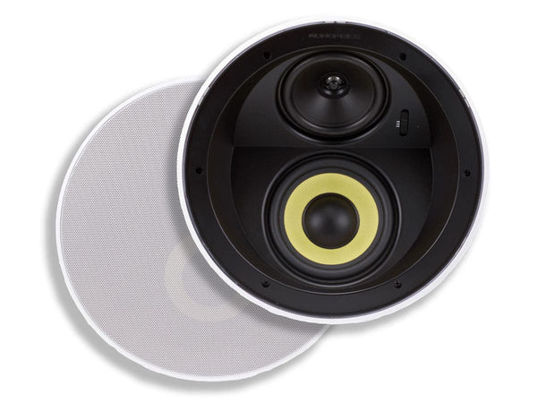 Monoprice Caliber Ceiling Speakers 6.5in Fiber 3-Way with Concentric Mid/Highs (7605)