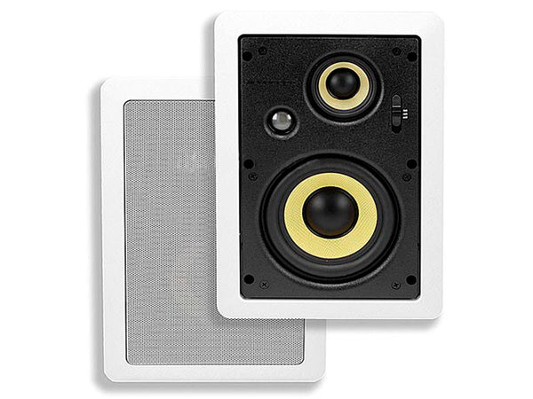 "Monoprice Caliber 6.5"" 3-way In-Wall Speakers - Jamsticks"
