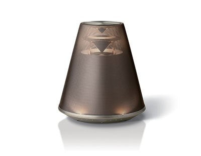 Yamaha Relit LSX-170 Gold Desktop Audio Bluetooth Wireless Speaker System with aptX and LED Lighting - Jamsticks