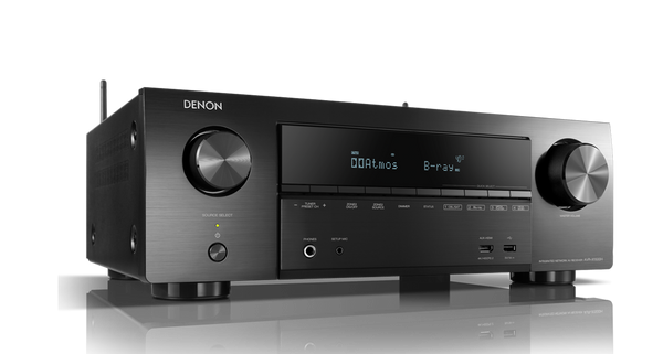 Denon AVR-X-1500 H 7.2 Ch. AV Receiver with Amazon Alexa Voice Control - Jamsticks
