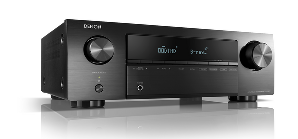 Denon AV Reciever AVR-X-250-BT 5.1 Ch. 4K Ultra HD AV Receiver with Bluetooth