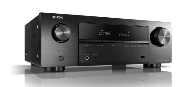 Denon AVR-X550BT 5.2 Ch. AV Receiver with Bluetooth - Jamsticks