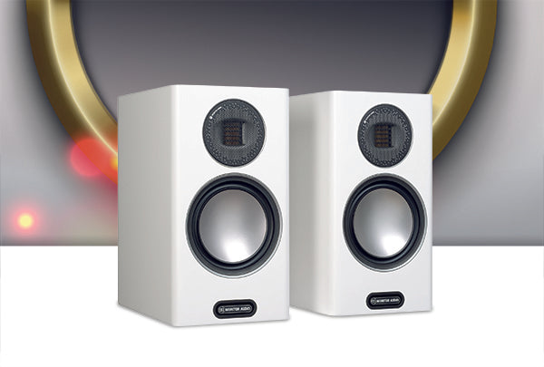 Monitor Audio Gold 100 Bookshelf Speaker - Jamsticks