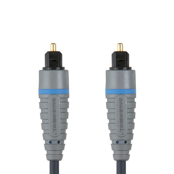 Bandridge BAL-5601 Digital Audio Cable TosLink Male - TosLink Male 1.00 m Blue