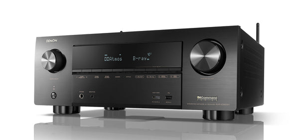 Denon AVR-X3600H 9.2ch 4K AV Receiver with 3D Audio and HEOS Built-in Jamsticks - Jamsticks